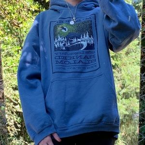 VINTAGE Style Mt Baker Hoodie circa 2010